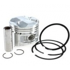 PISTON KIT  125CC D=57MM Bolt 15mm - PIAGGIO, APRILIA, VESPA 125CC 4T LC