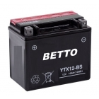 BATERIE YTX12-BS 12V-10Ah MF Sizes LxlxH 150x87x130mm - FARA INTRETINERE