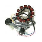 MAGNETOU APRINDERE STATOR 12-bobine - Minarelli 03>> Yamaha Aerox SA14 / 5BR, Axis, Breeze, Jog R