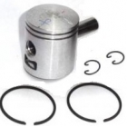 PISTON KIT 50CC Ø = 40 MM - MOPED CU PEDALE FIRSTBIKE - CITYFLEX