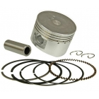 PISTON KIT 150CC - GY6 150 D=57.4MM CHINA 4 TIMPI 150