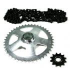 PINIOANE KIT CU LANT Chain & Sprocket Set AFAM Aprilia RS Extrema 50 '95-'98