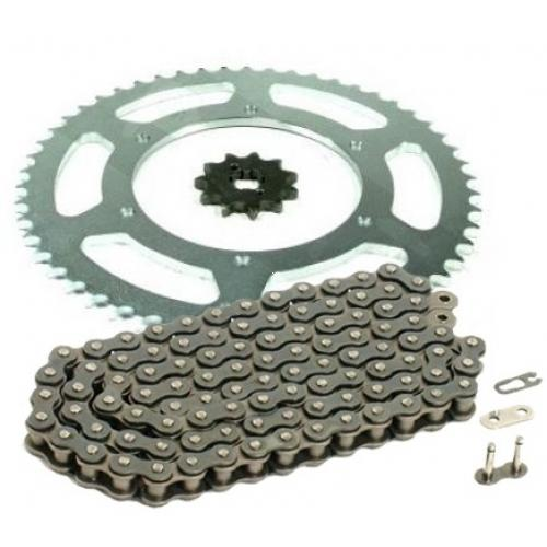 PINIOANE KIT CU LANT Chain & Sprocket Set AFAM Aprilia RS50 '06-'11