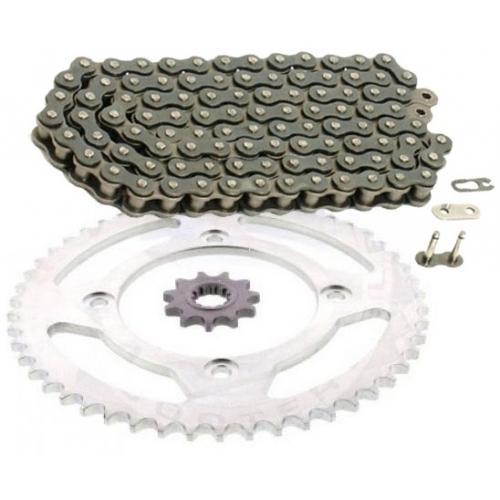 PINIOANE KIT CU LANT Chain & Sprocket Set AFAM Beta RR Enduro 50 '12-'16
