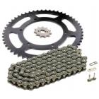 PINIOANE KIT CU LANT Chain & Sprocket Set AFAM Aprilia RS4 50 '12-'13