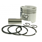 PISTON KIT STANDARD 39MM 2-VALVE - PIAGGIO 50CC 4-TIMPI