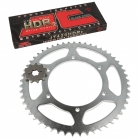 PINIOANE KIT CU LANT SPROCKET KIT AND CHAIN - APRILIA RS D50B0 DERBI GPR